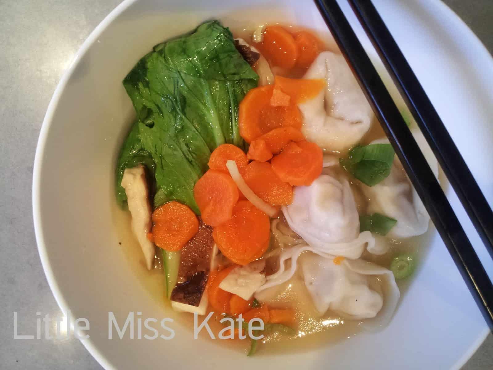 Cantonese Chicken Noodle Soup