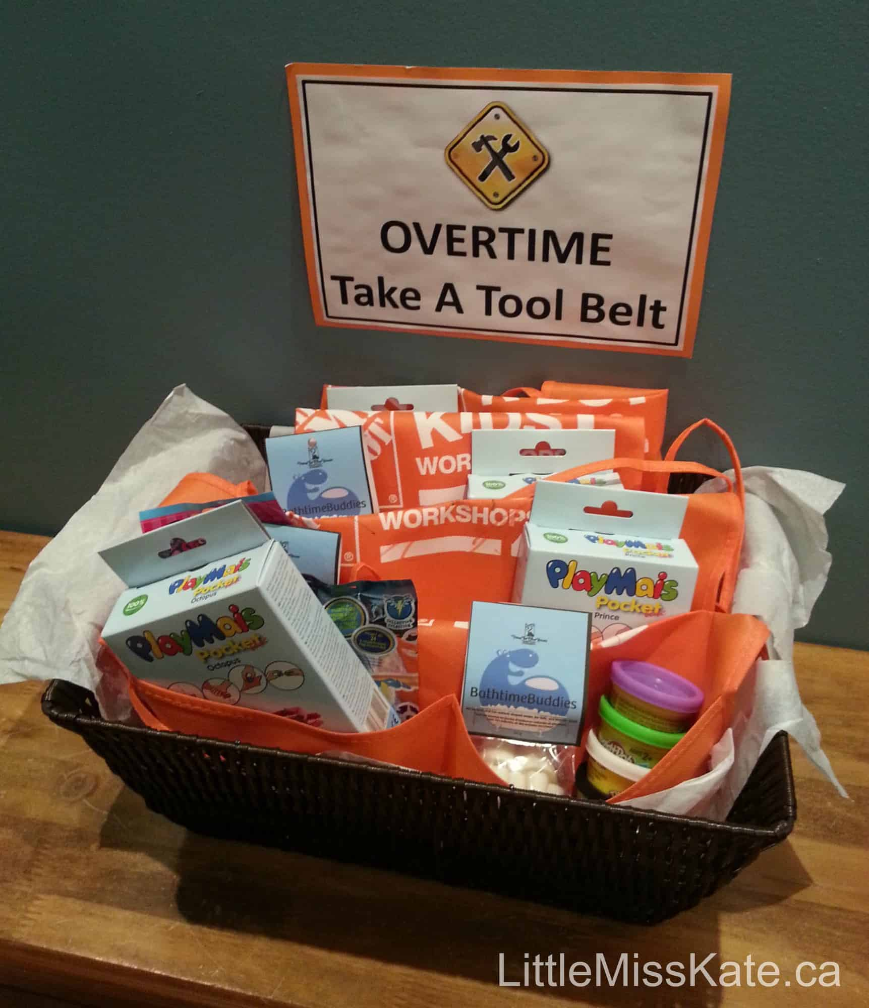 Birthday Party Ideas: Construction Party Favors