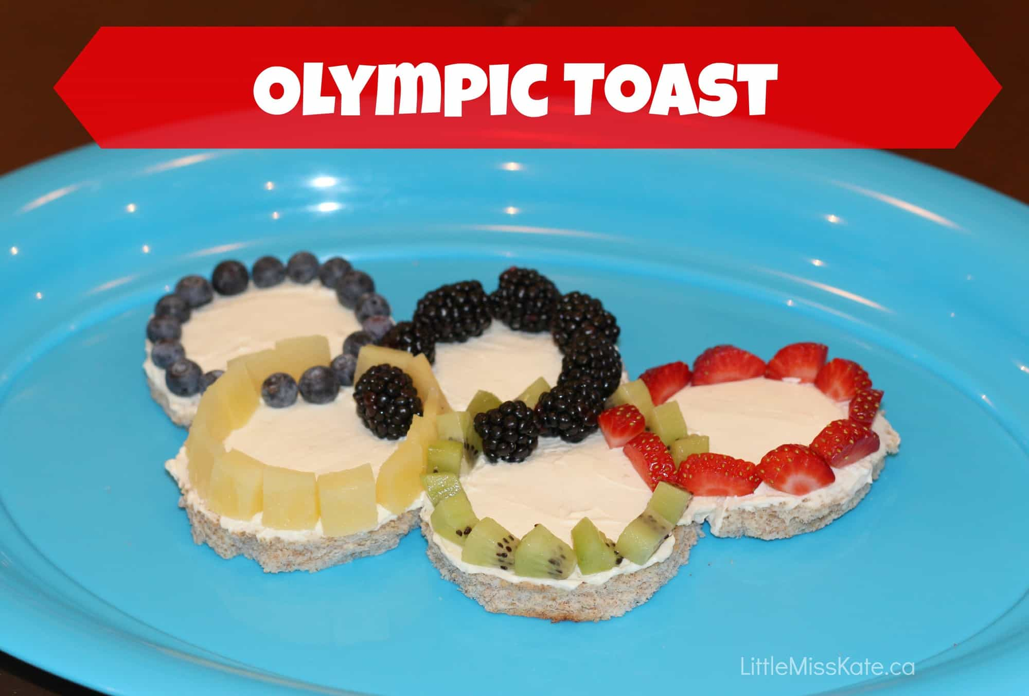 Olympic Food Ideas – A Breakfast of Olympic Proportions – Olympic Toast