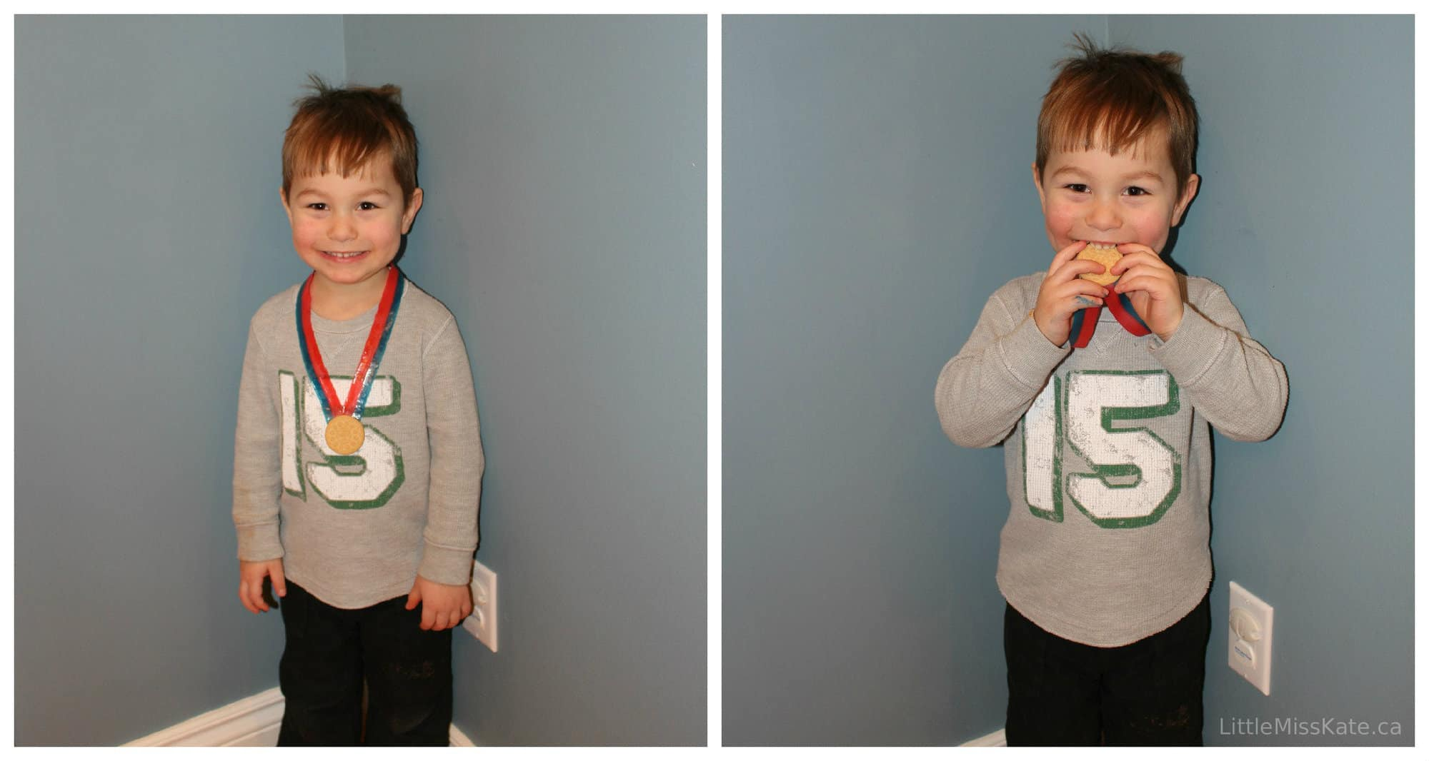 Olympic arts and crafts edible olympic medals