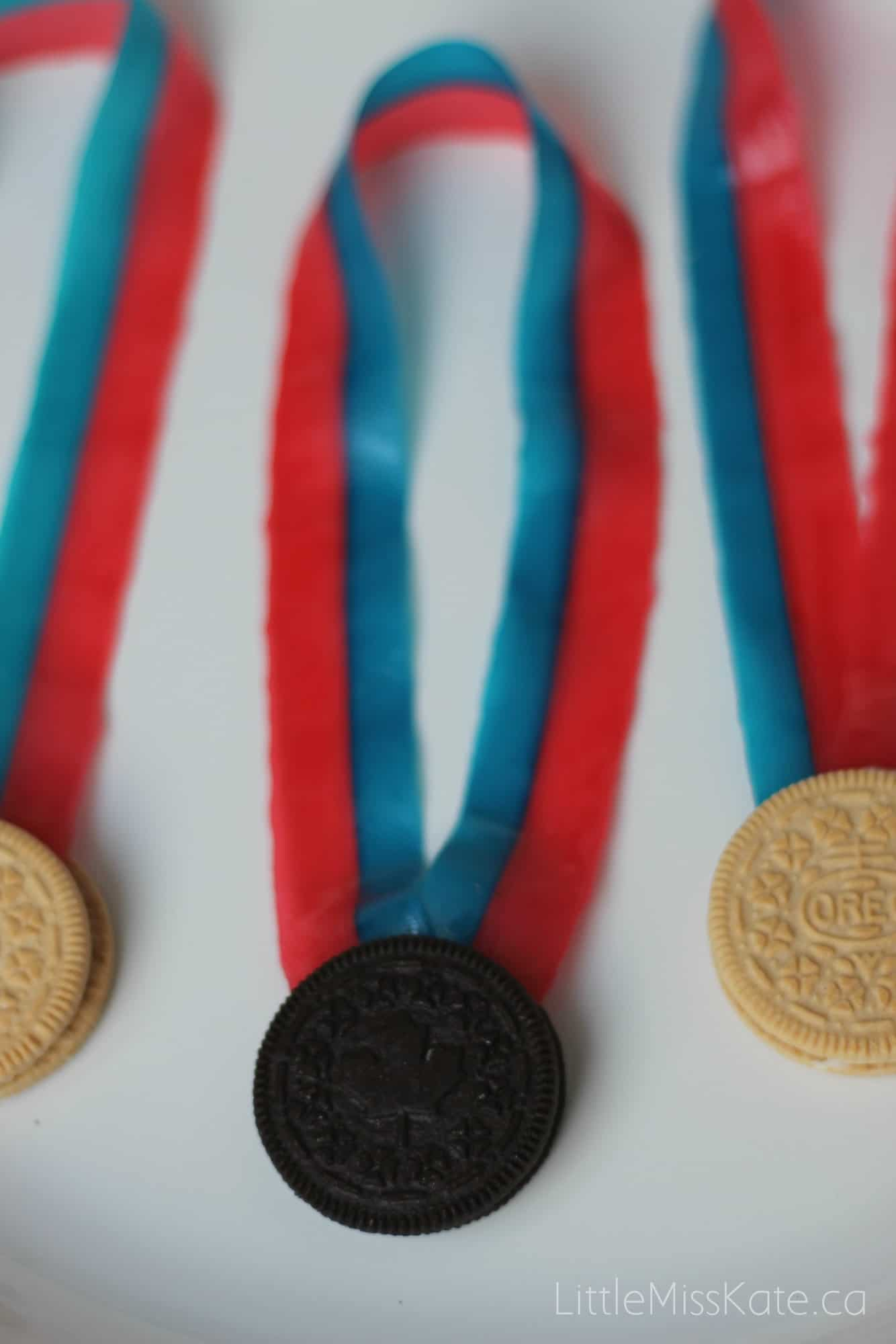 Olympic activity for kids oreo olympic medals