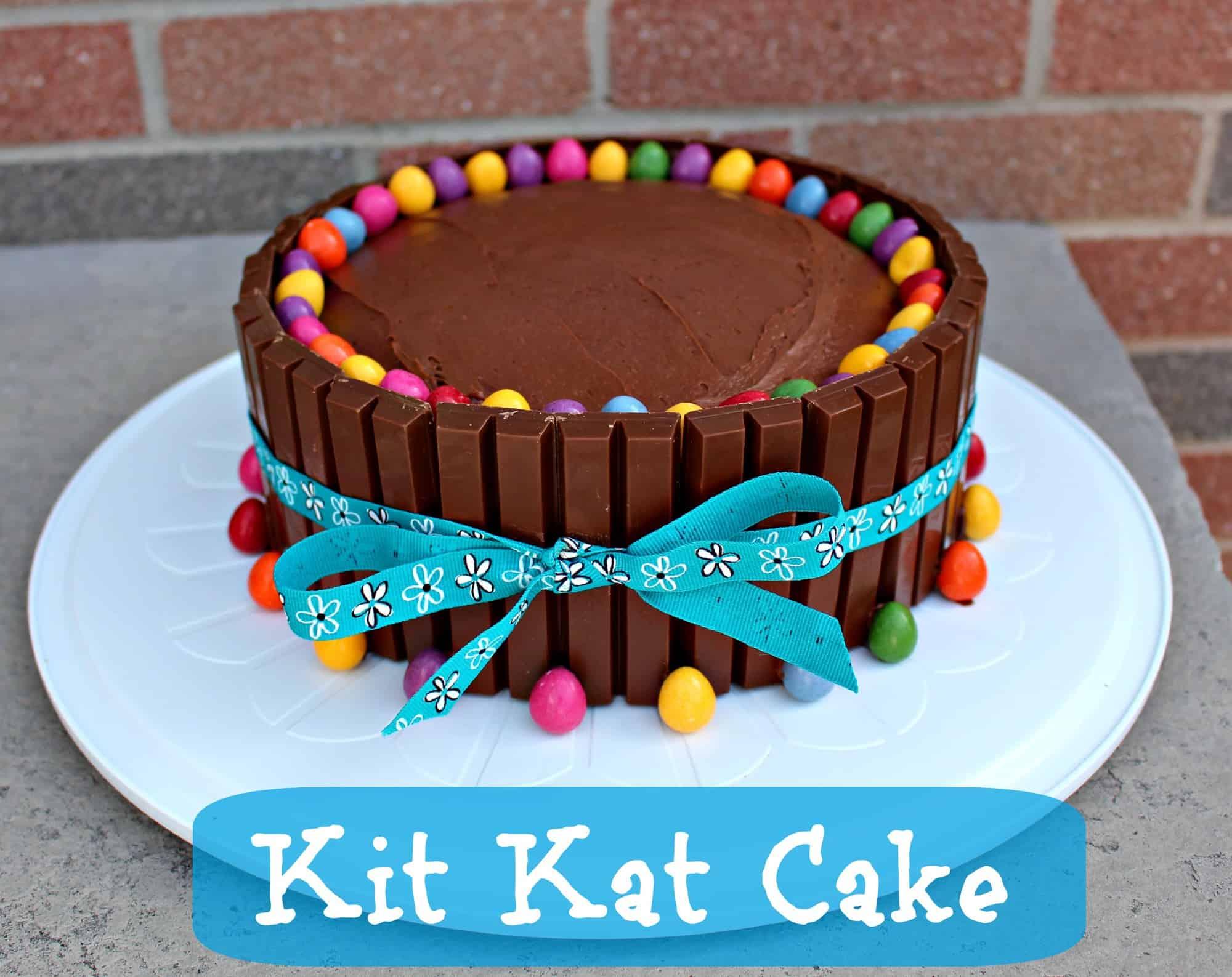 KitKat Cake Recipe – Easy Birthday Cake Ideas