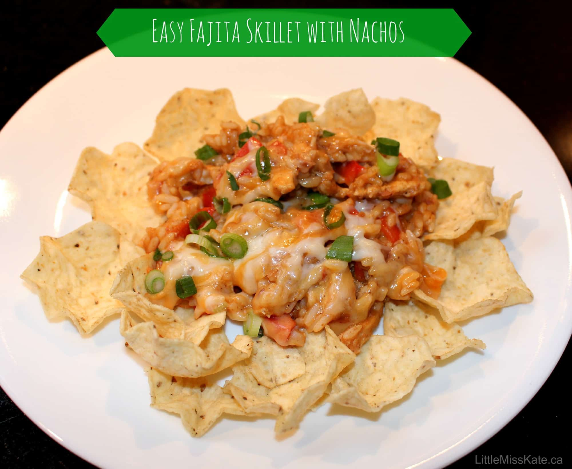 Spice up your Nachos with this Fajita Skillet Recipe from Uncle Ben's #Bensbeginners