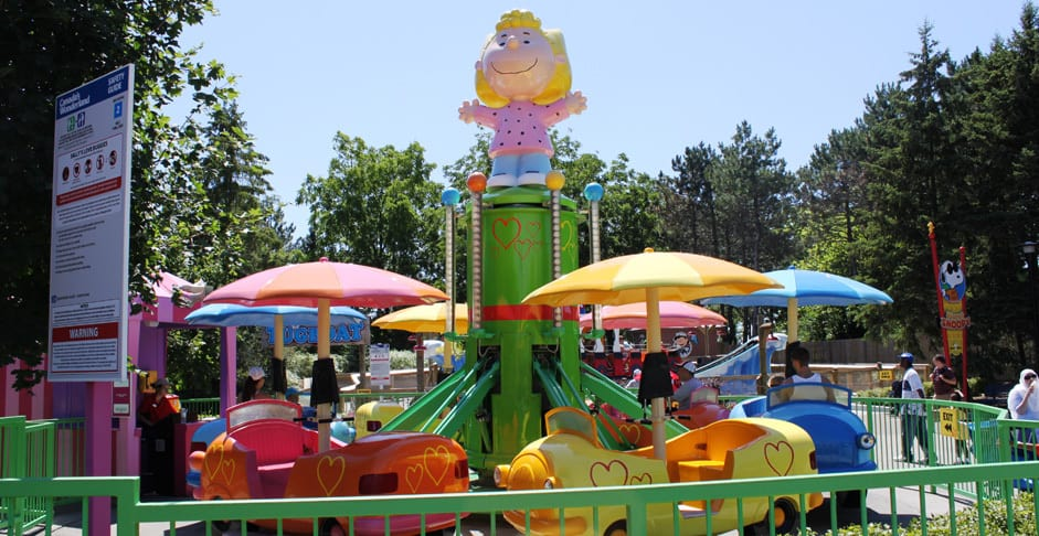 Best Rides for Toddlers at Canada's Wonderland
