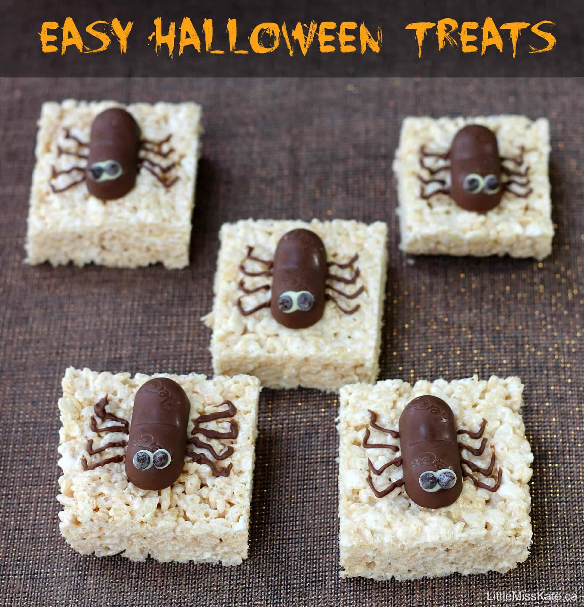 Spooktacular Easy Spider Halloween Treats Recipe