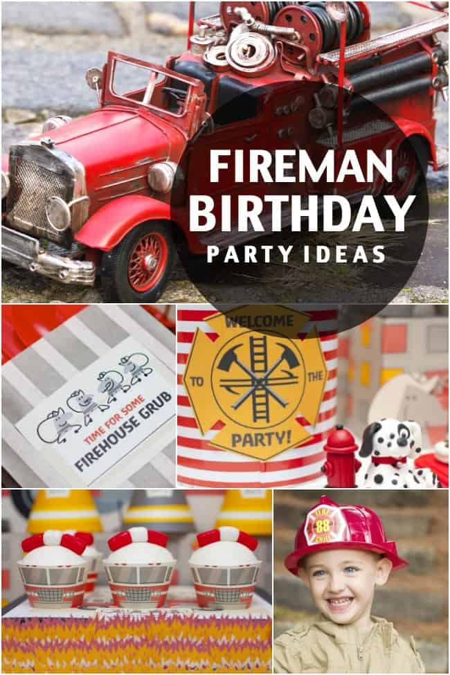How To Host A Fireman/Fire Truck Party