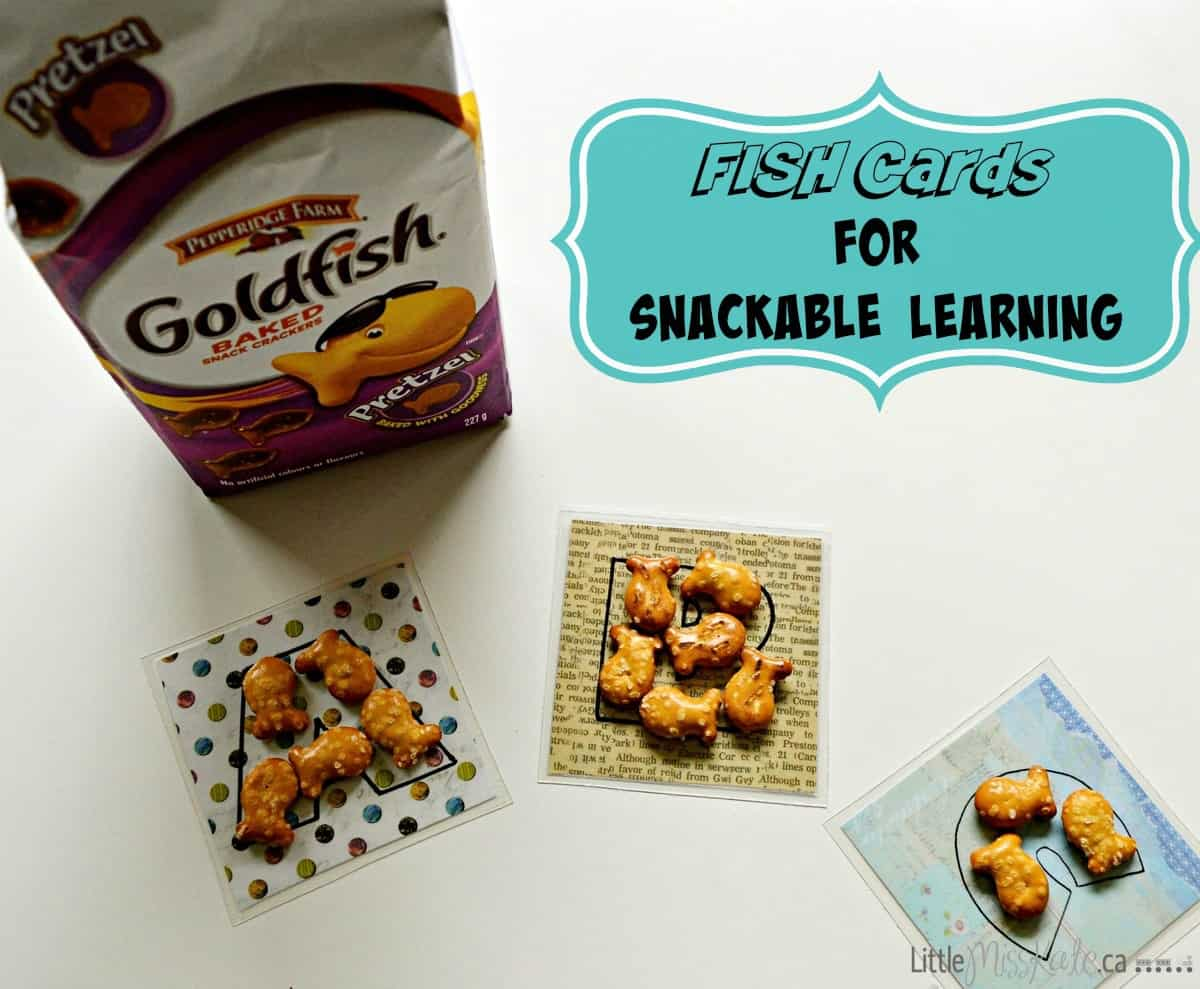 Fish Cards for Snackable Learning – Free Alphabet Printable Flash Cards