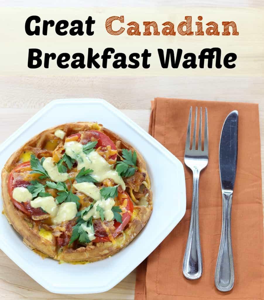Great Canadian Breakfast Waffle