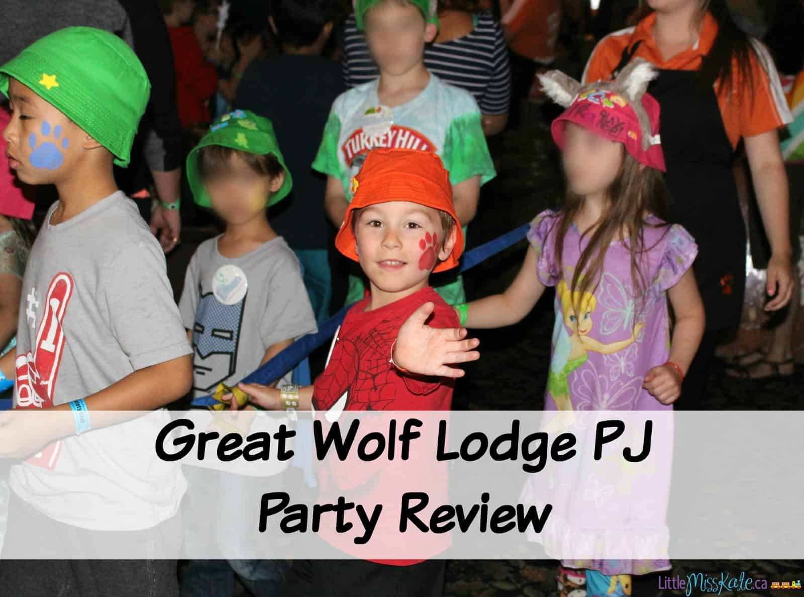 Great Wolf Lodge PJ Party Review