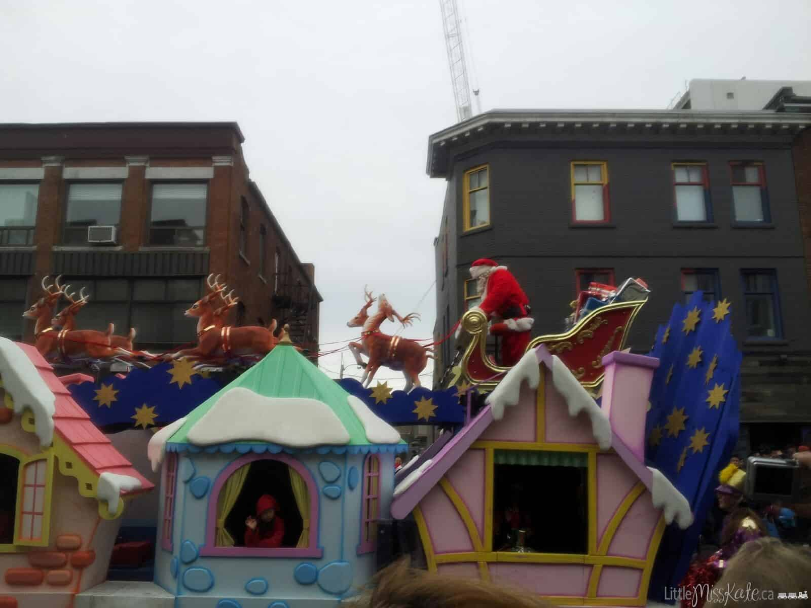 Tips For Surviving The Toronto Santa Claus Parade With Kids