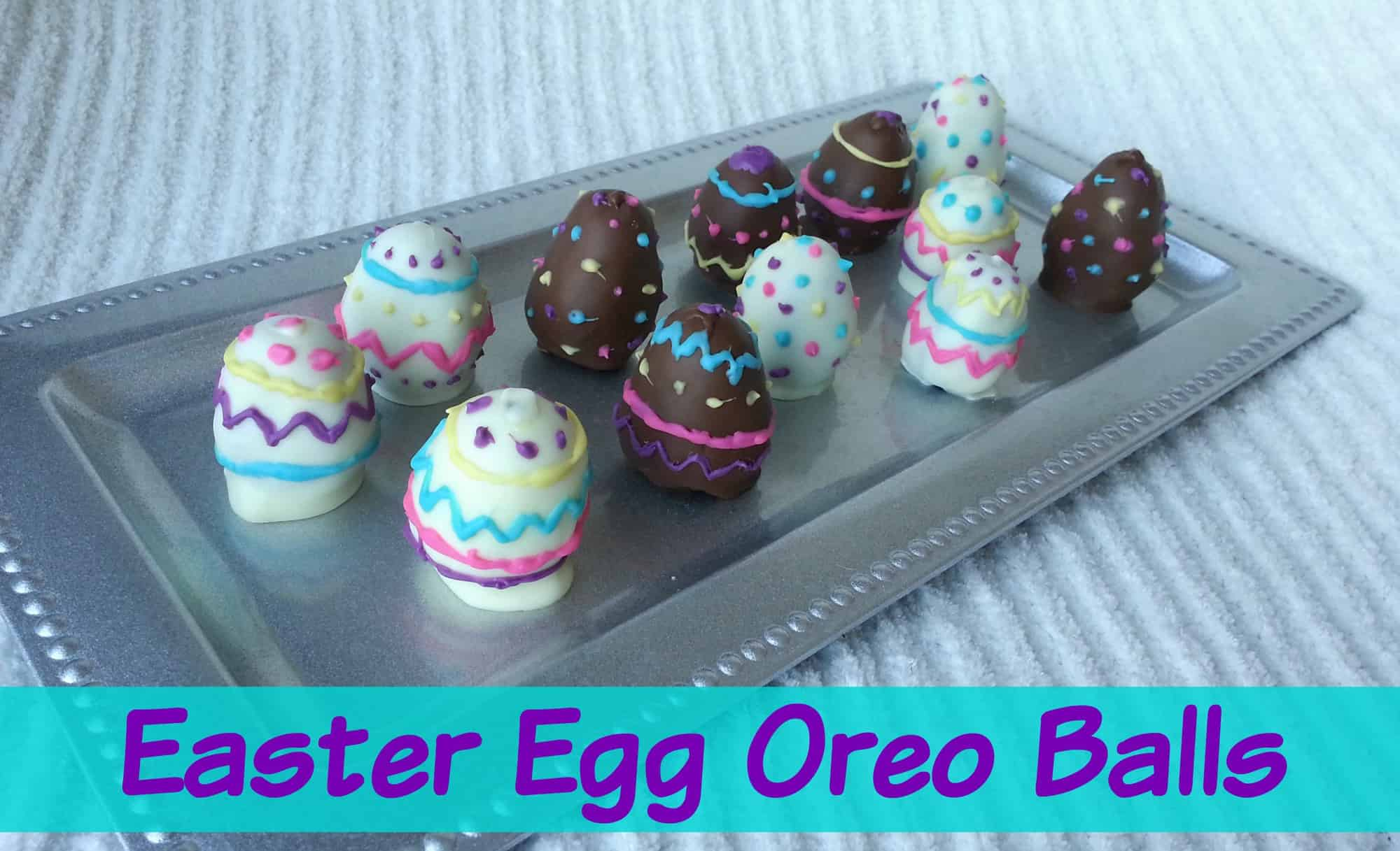 Easter Oreo Balls Recipe – Easter Dessert Idea