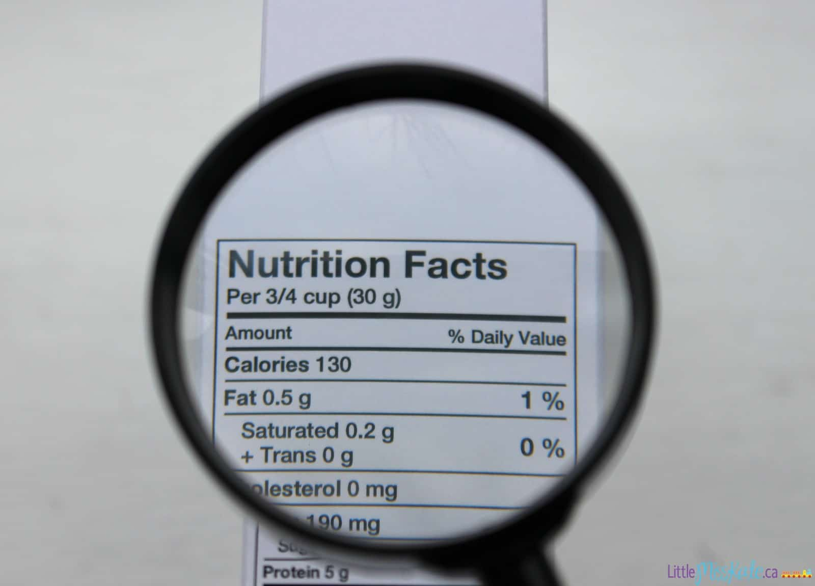 It's Time To Lead By Example When It Comes To Food and  Focus On The Facts