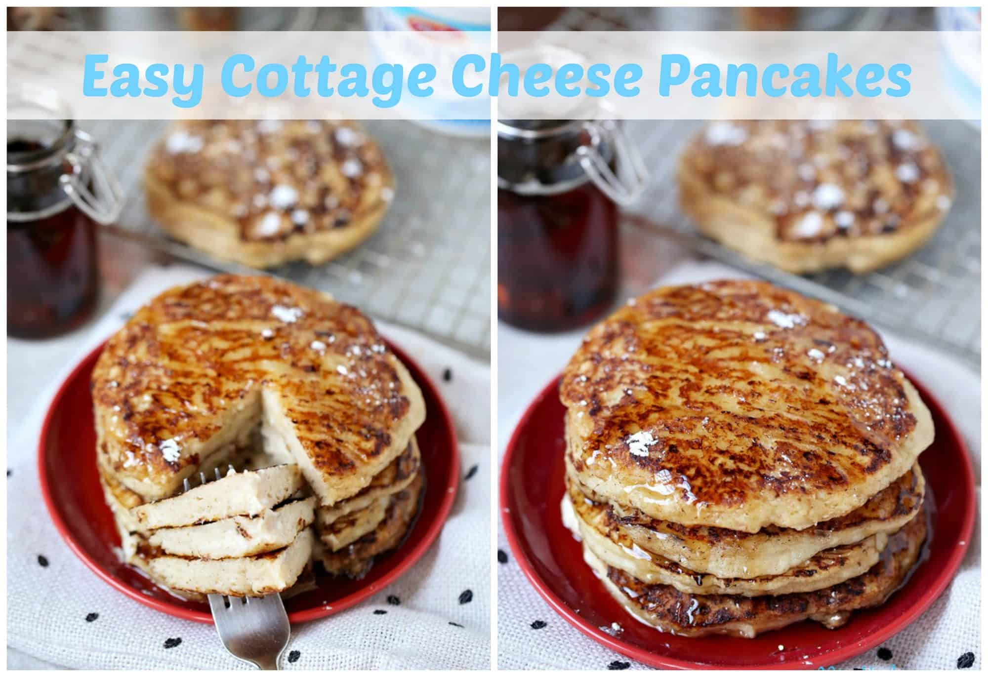 Easy Cottage Cheese Pancakes – Brunch Recipe Idea