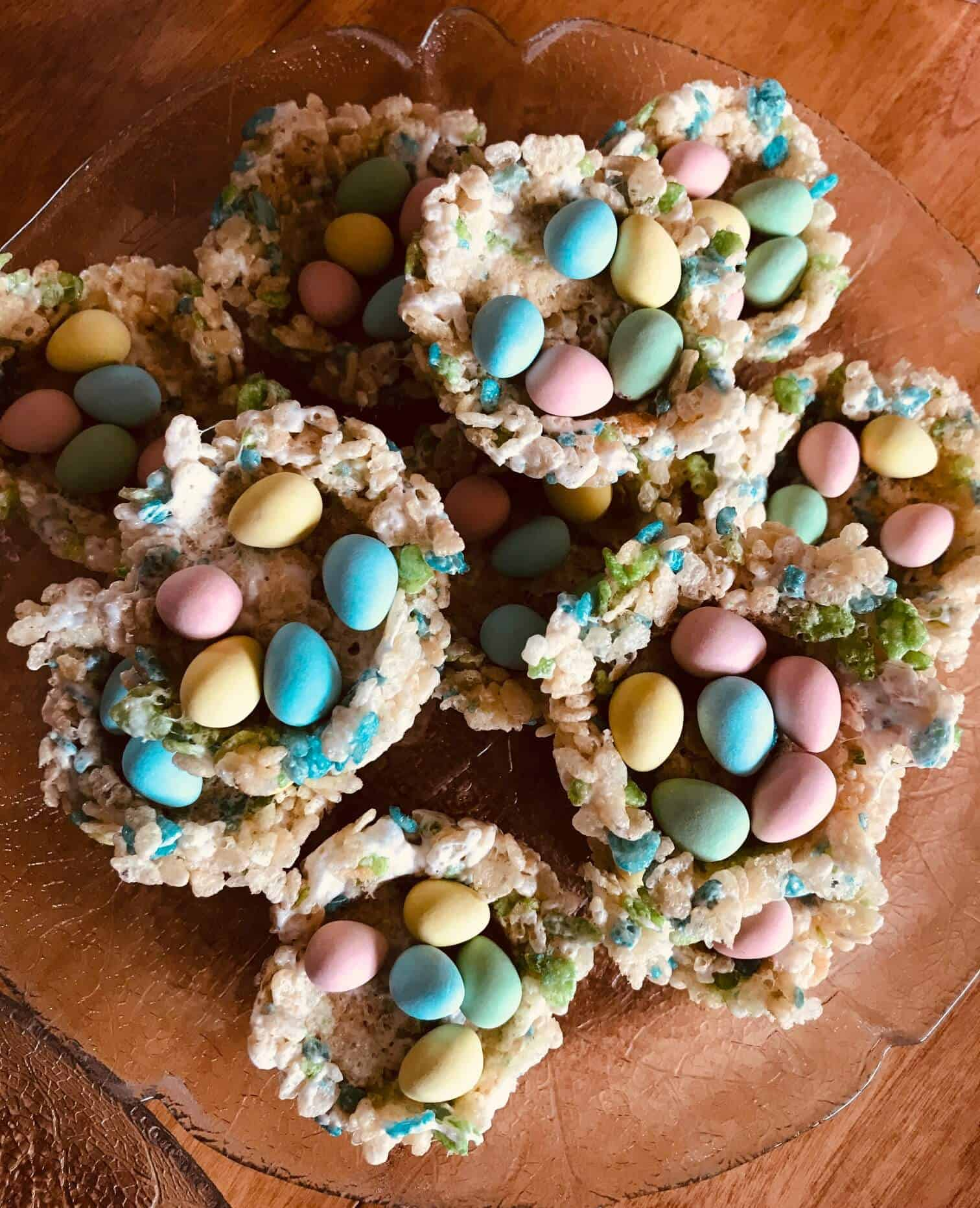 Easy Easter Rice Krispies Nests Recipe