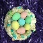 Rice Krispie Easter Nests