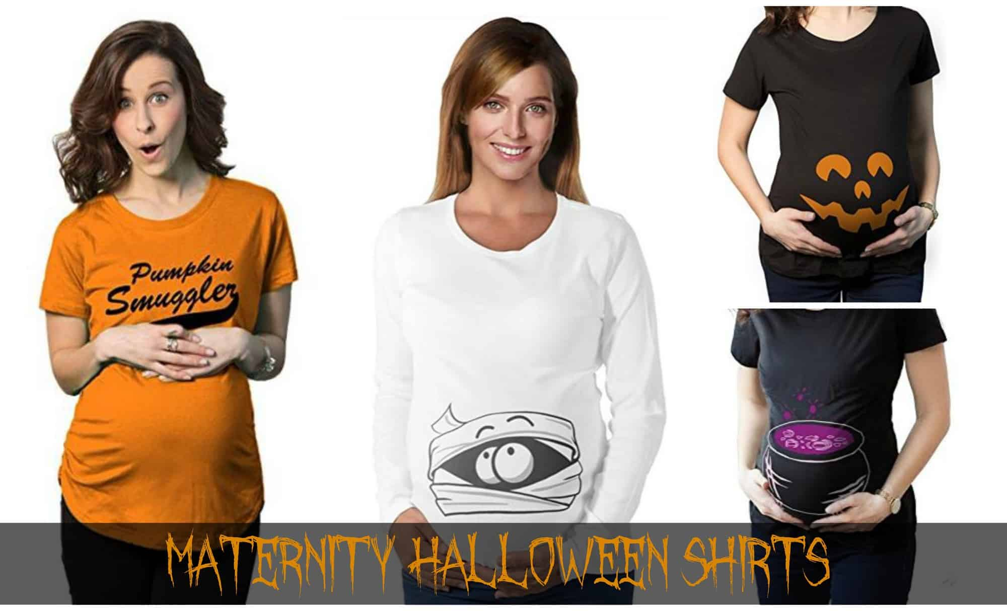 21+ Maternity Halloween Shirts for Pregnant Moms
