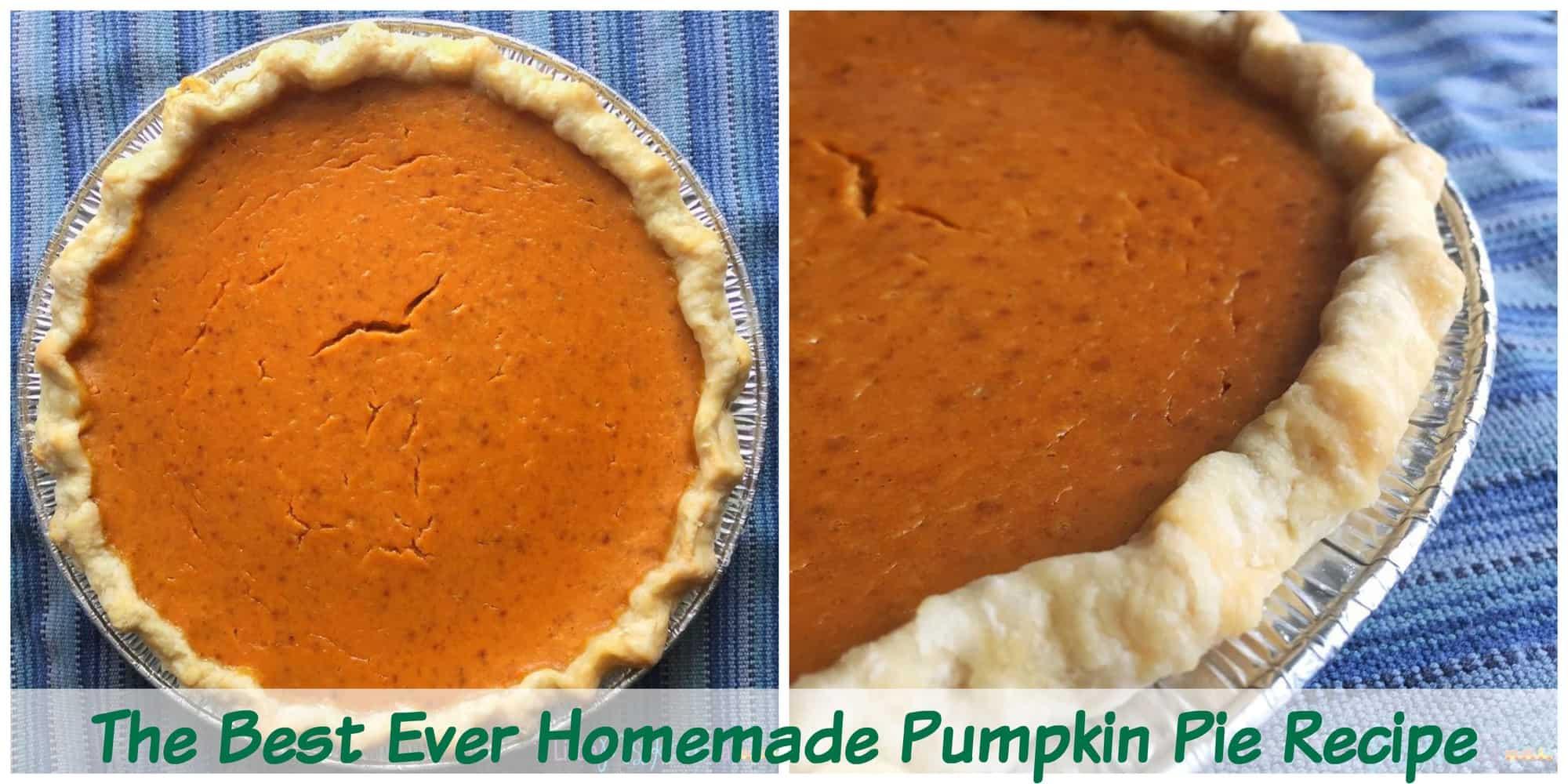 The Best Homemade Pumpkin Pie Recipe with Canned Pumpkin