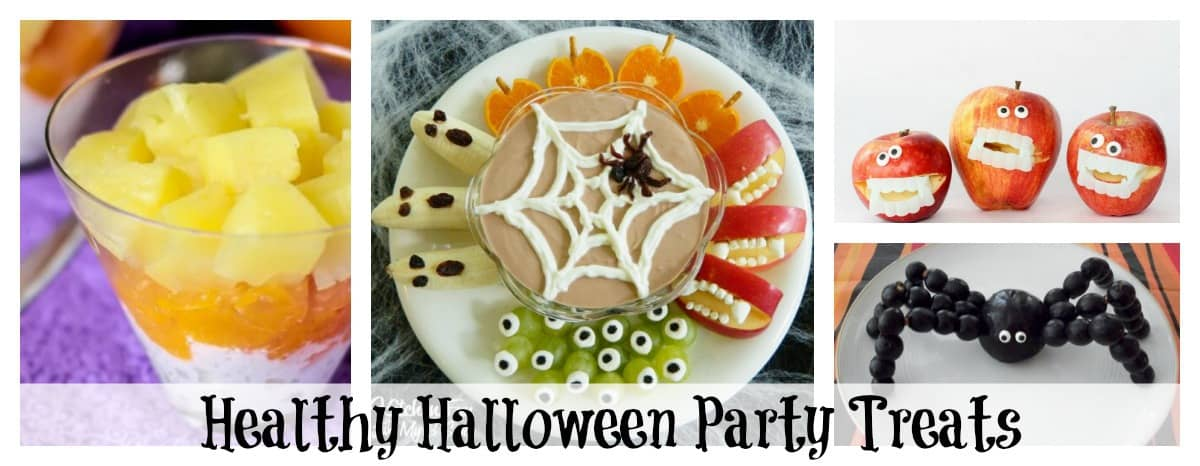 15+ Delicious and Healthy Halloween Party Treats