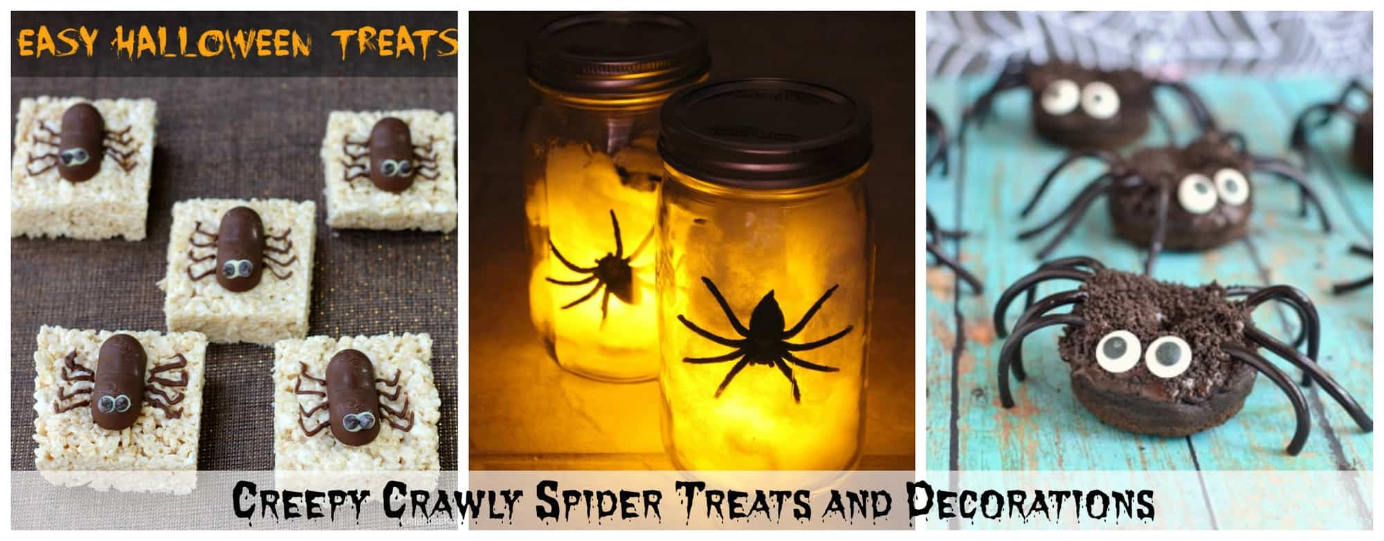 15+ Halloween Ideas – Creepy Crawly Spider Treats and Decorations