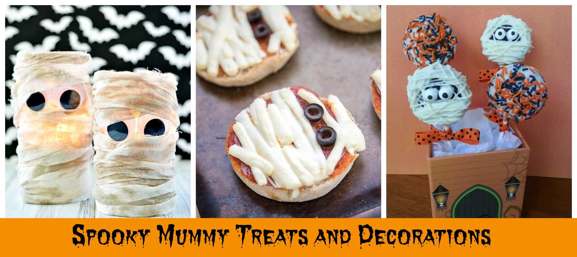 15+ Halloween Ideas – Silly & Spooky Mummy Treats and Decorations