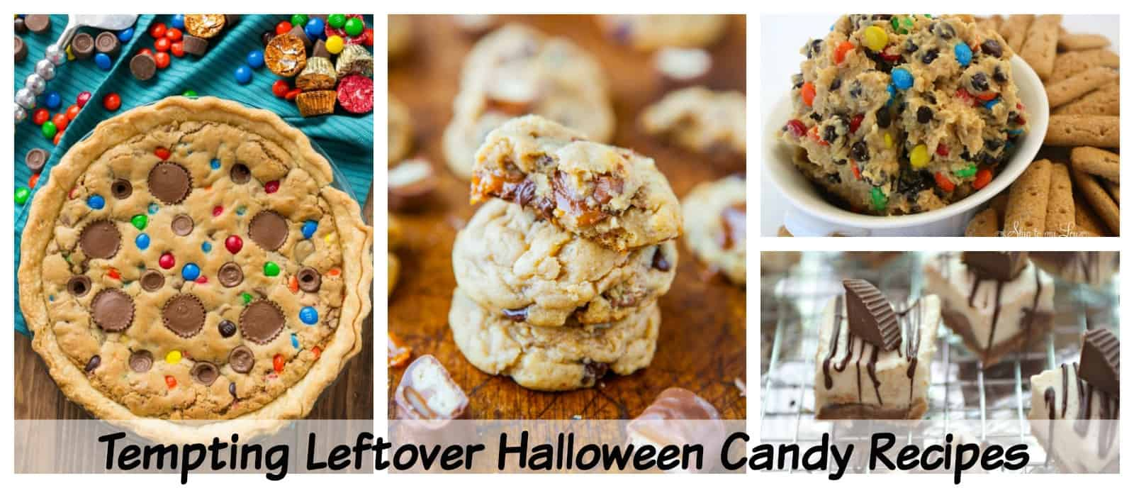 Truly Tempting Leftover Halloween Candy Recipes