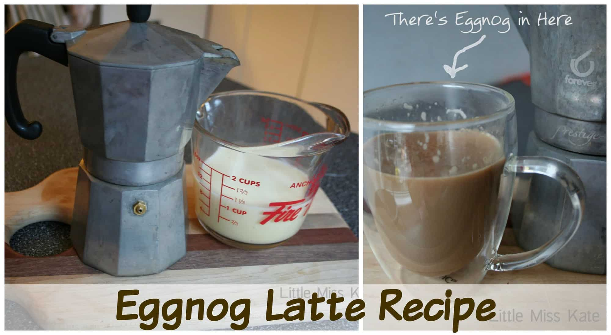 Eggnog Latte Recipe – Christmas Beverage Idea