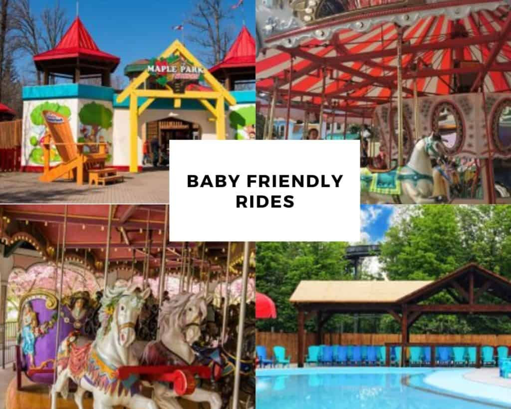 Rides for Babies at Canada's Wonderland