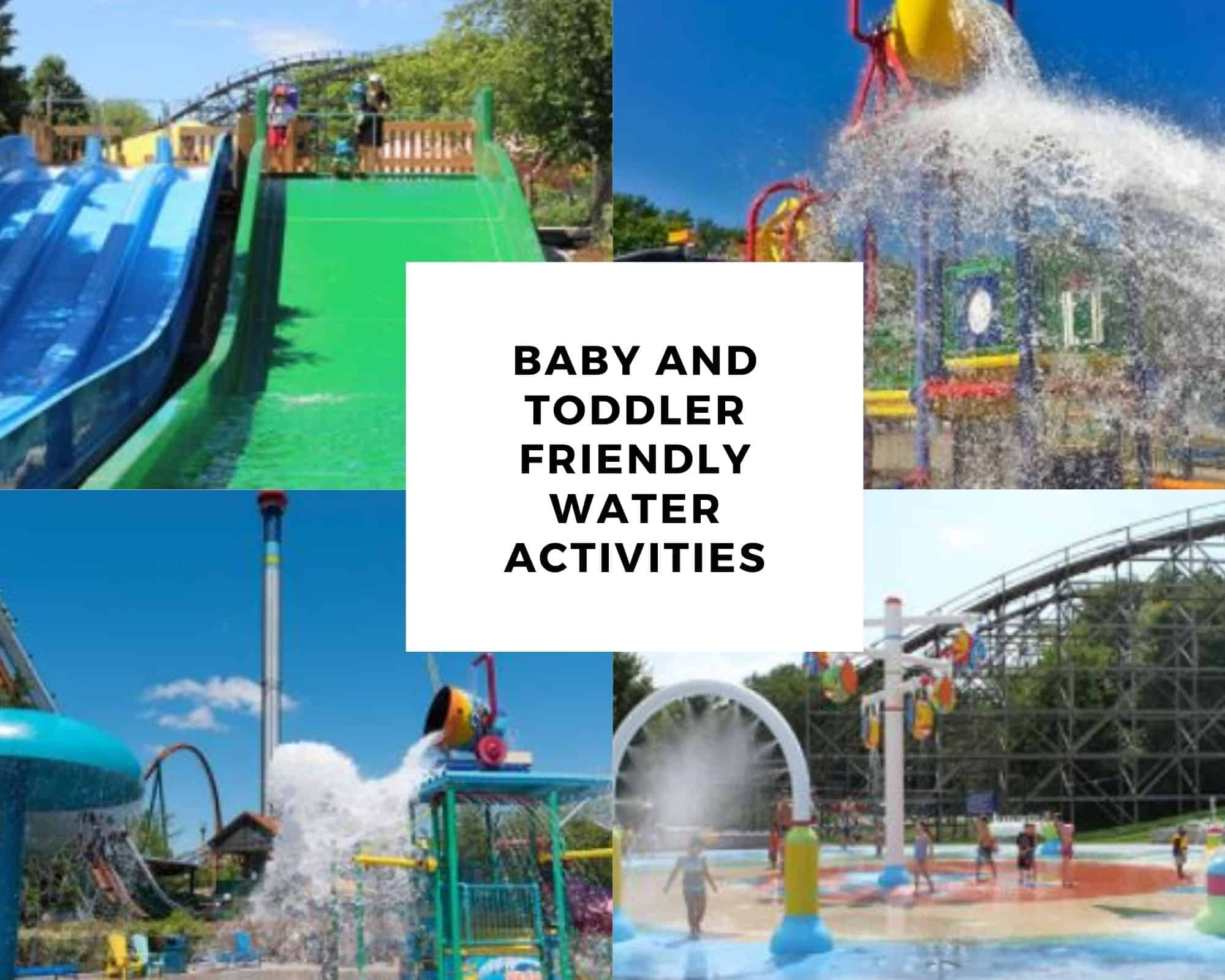 Canada's Wonderland's Splash Works with a Baby or Toddler: