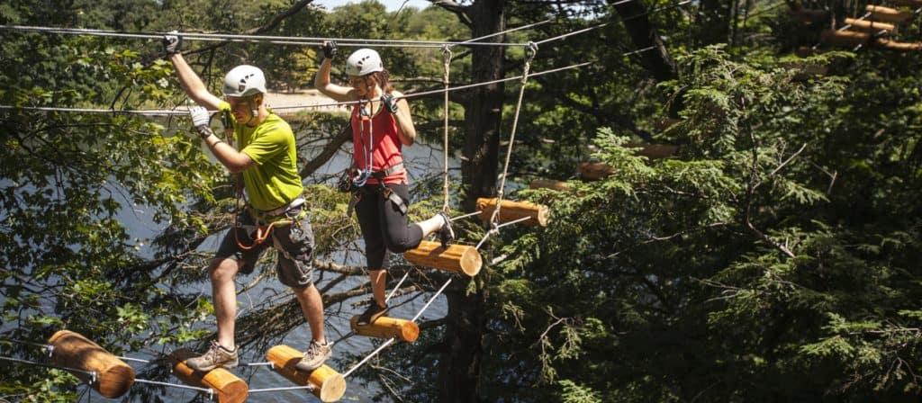 Treetop Trekking at Heartlake Conservation Area
