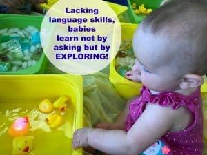 sensory activities on maternity leave