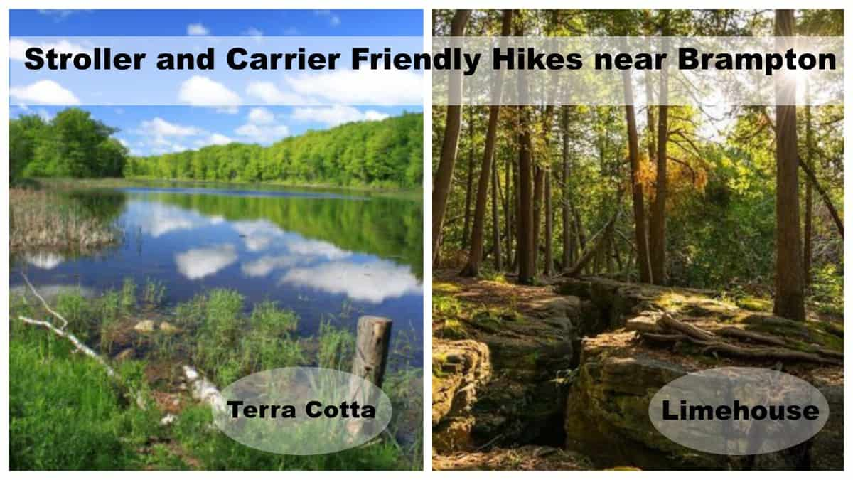 Hiking with a Baby – Stroller and Carrier Friendly at Terra Cotta/Limehouse