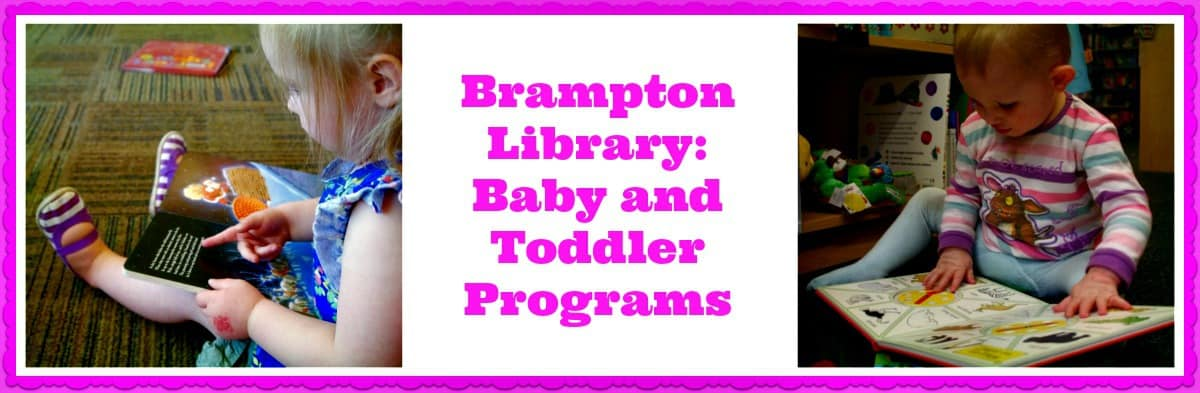 Brampton Library: Toddler and Baby Library Programs