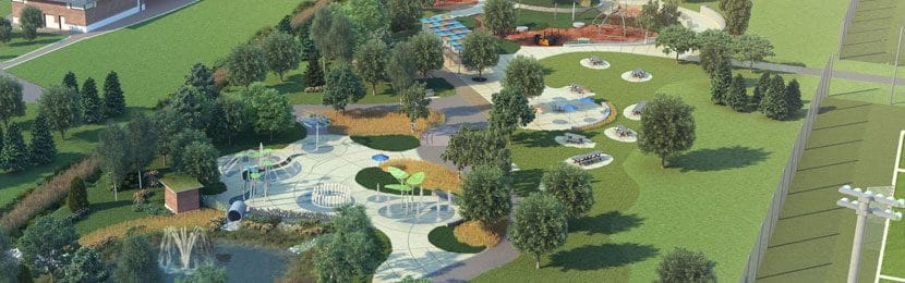 Creditview Park Brampton – Fully Accessible Park