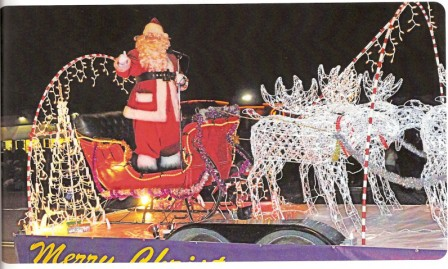 georgetown santa claus parade