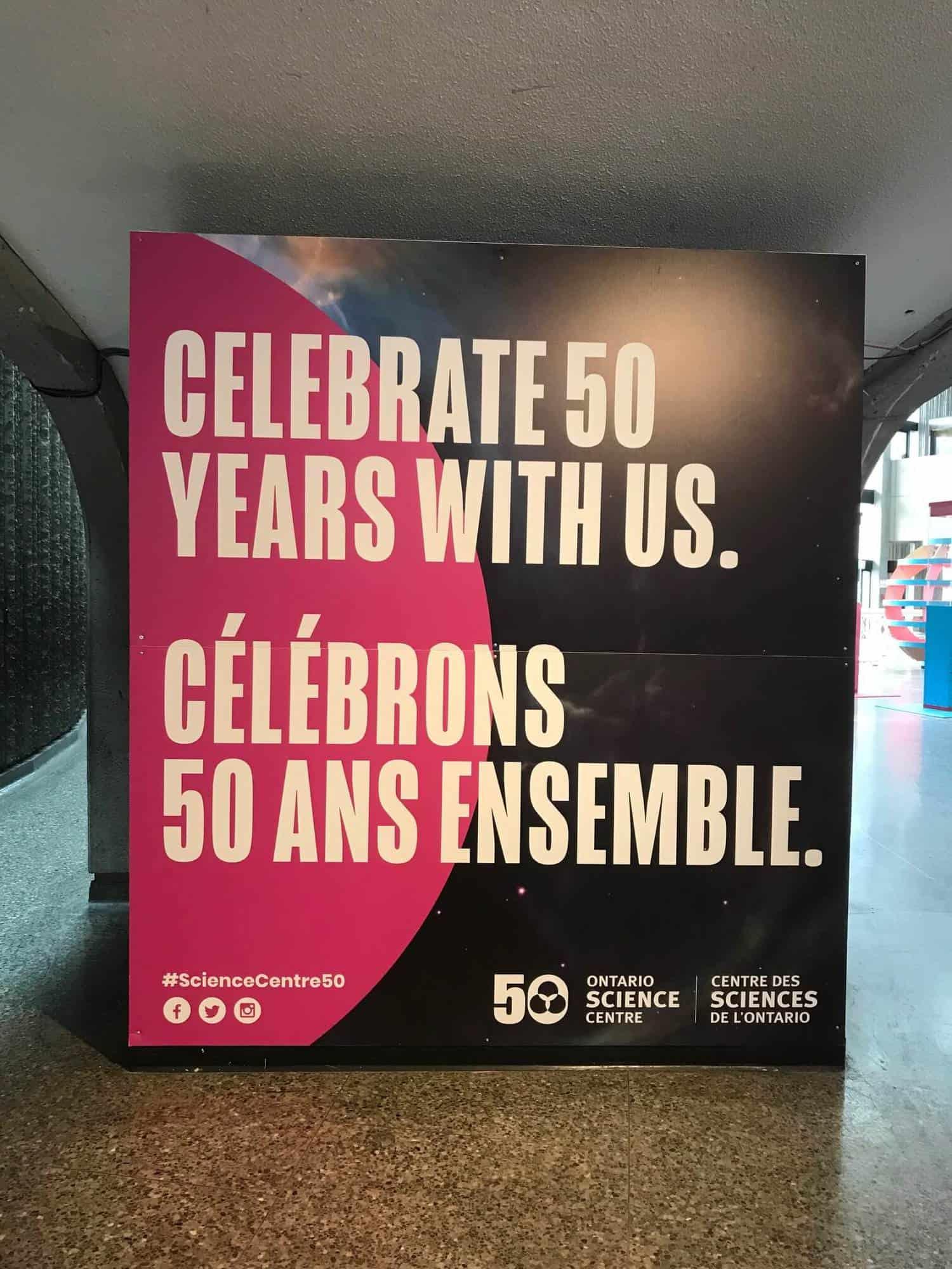 Ontario Science Centre 50 Years