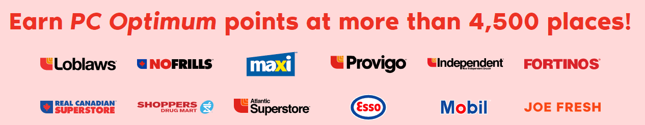 PC Optimum Points and How I got back $800 in 2018 using Click and Collect