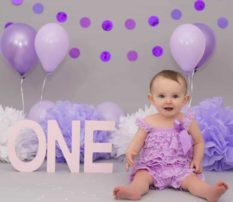First Birthday Photo Shoot