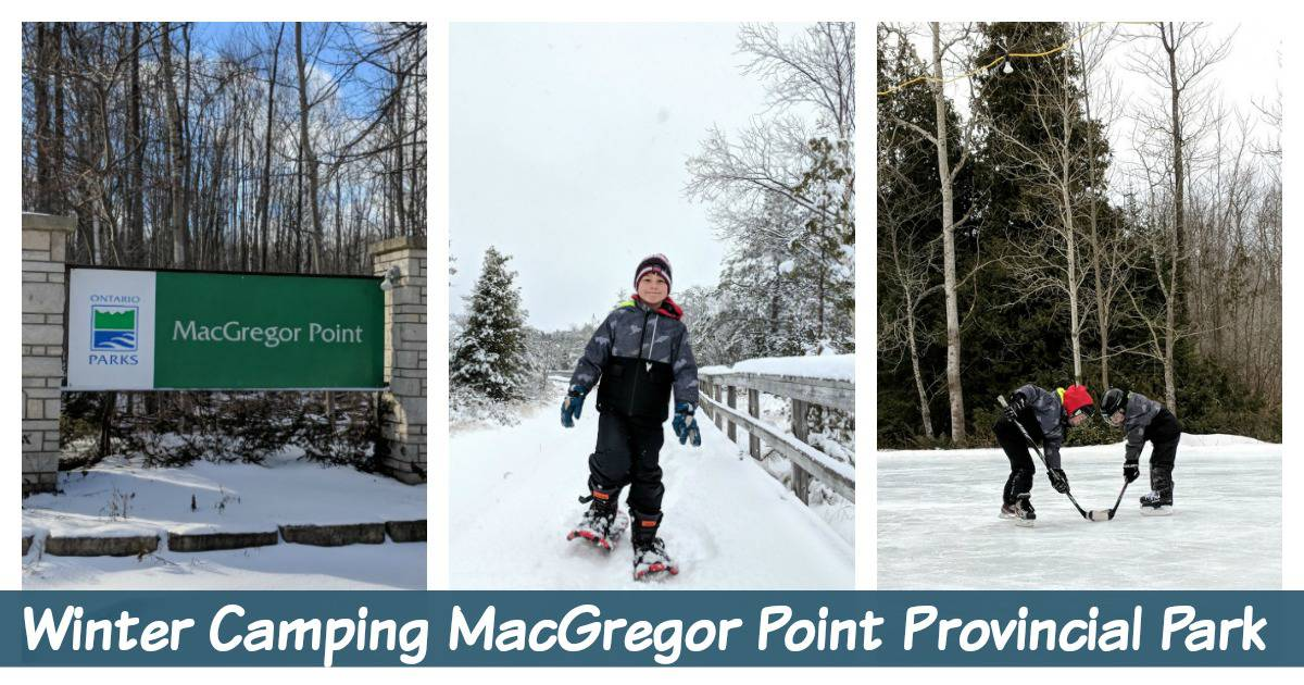 Winter Camping in Ontario with Kids – MacGregor Point Provincial Park Yurt Camping
