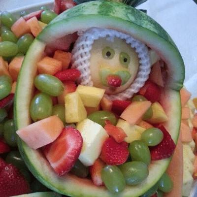 Baby Shower Fruit Salad Bowl – Baby Shower Food Ideas