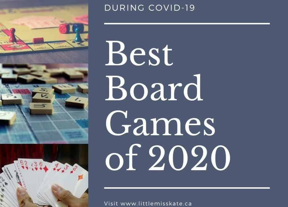 Best Board Games of 2020