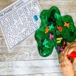 St.Patrick's Day Preschool Sensory Play