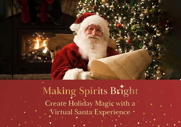 Virtual Santa Photos at Shoppers World Brampton