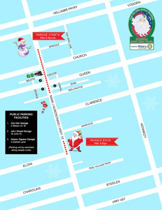 Brampton Santa Claus Parade