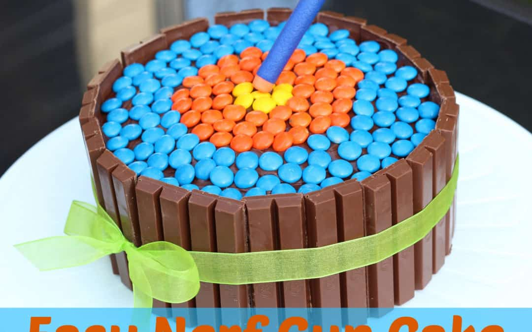 How to Make an Easy Nerf Gun Cake