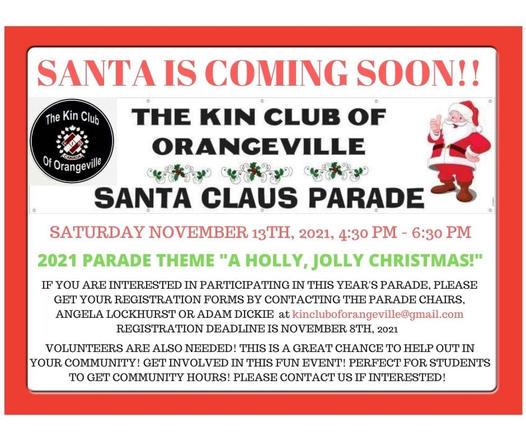Santa Claus Parade in Orangeville