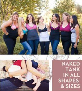 Naked Tank Nursing Tanks