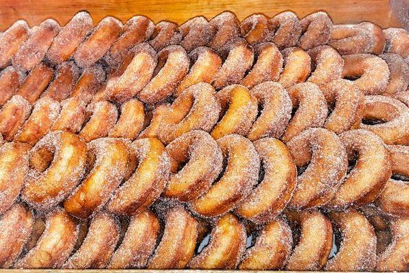 Downeys farm pumpkin donuts epic doughnuts in brampton