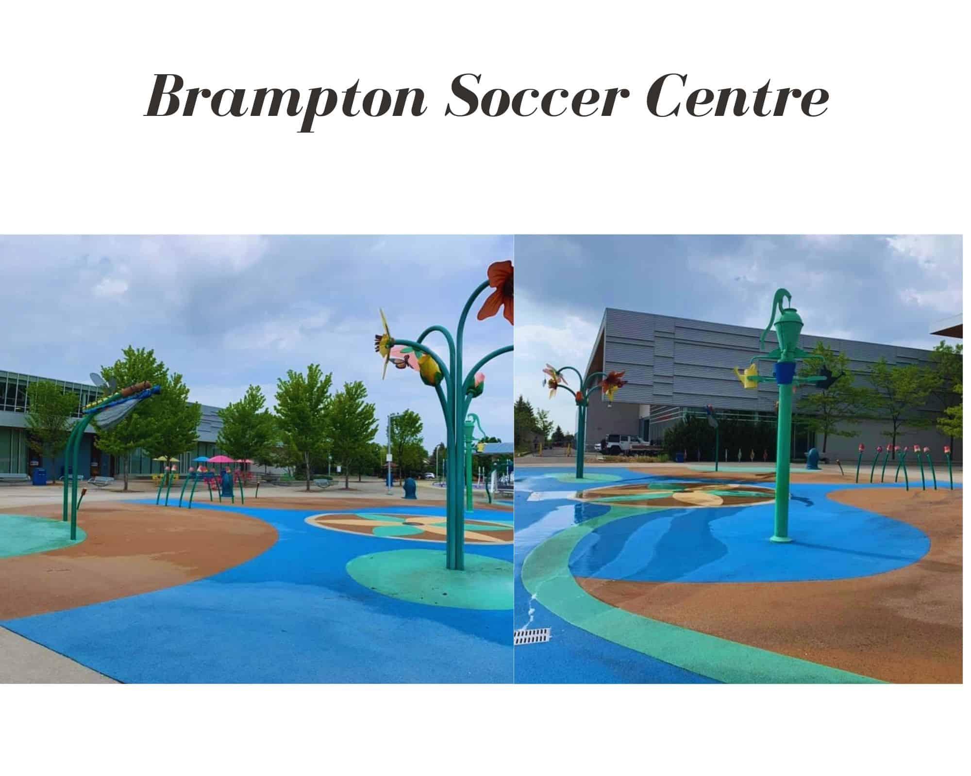 Brampton Soccer Centre Splash Pad