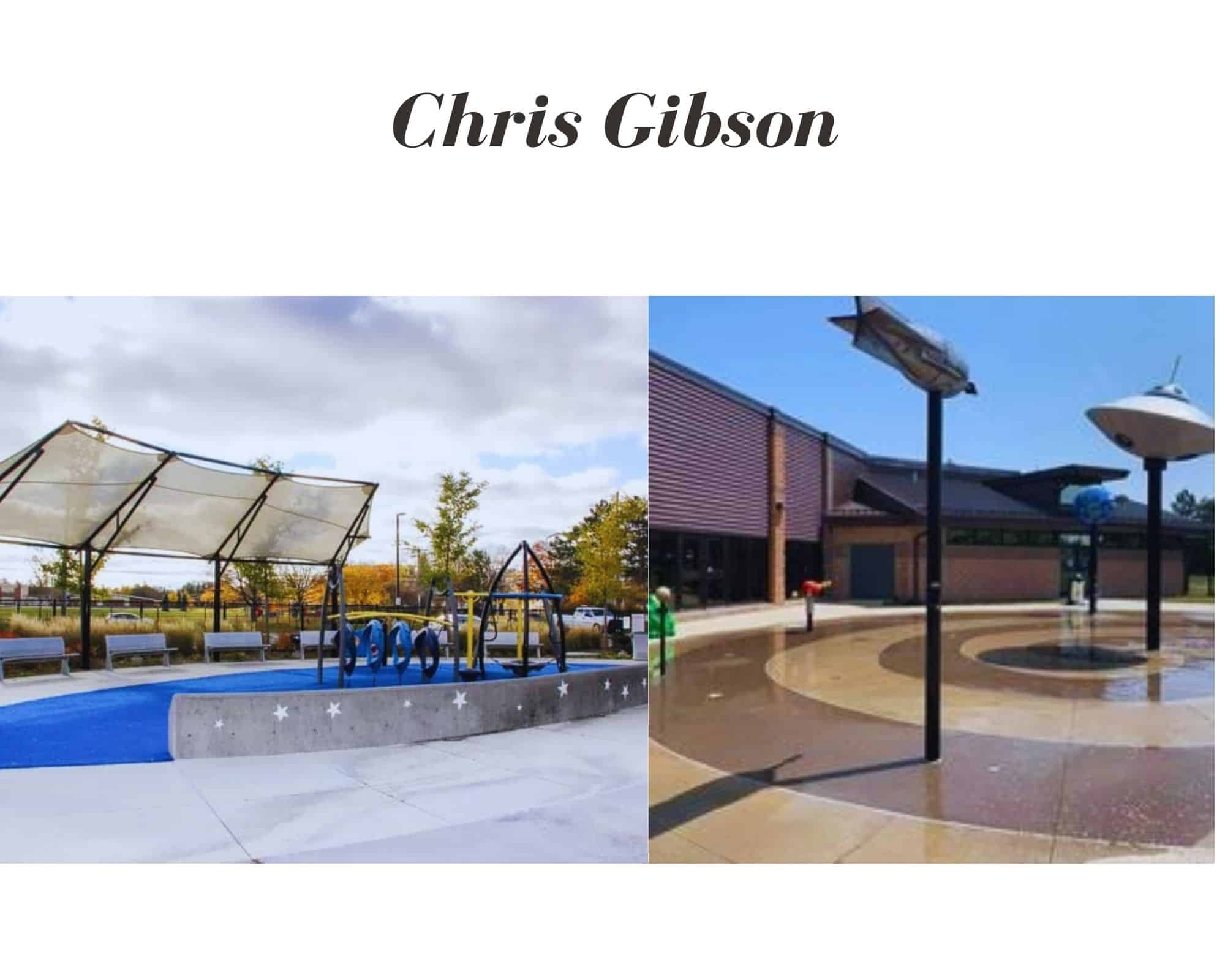Chris Gibson Splash Pad