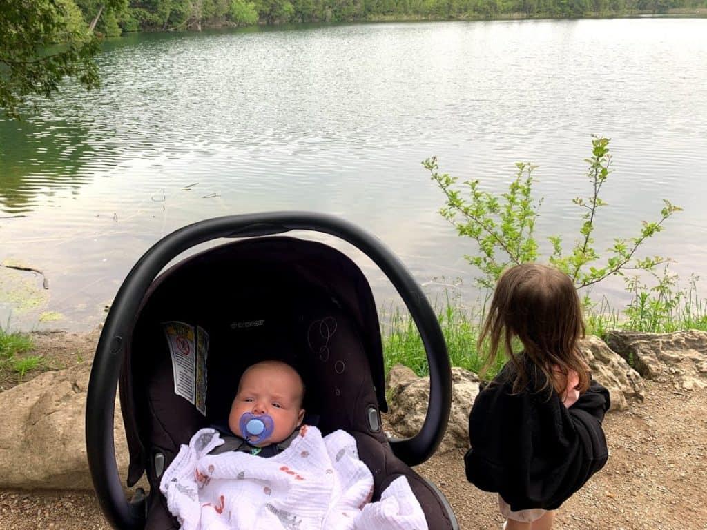 crawford lake - stroller friendly trail